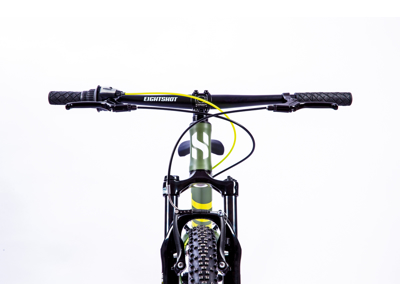 "Eightshot X-Coady 24 FS - MTB - 24"" - Green"