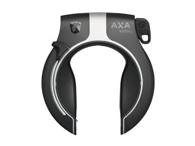 AXA Victory - Ringlås med plus in system - Sort/sølv