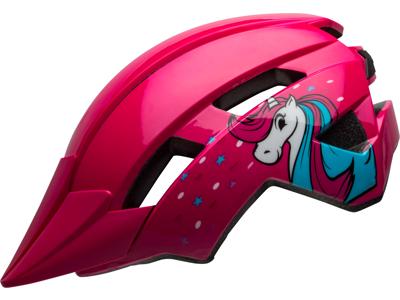 Bell Sidetrack II Barn - Cykelhjelm - Pink Unicorn - Str. 47-54 cm