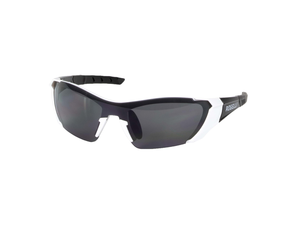 Rogelli Falcon - Cykelbrille - TR-90 - Smoke linse - Sort/Hvid thumbnail