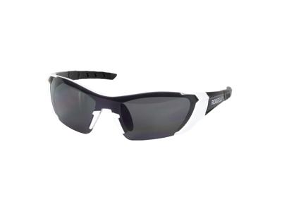 Rogelli Falcon - Sykkelbriller - TR-90 - Røykglass - Svart / hvit