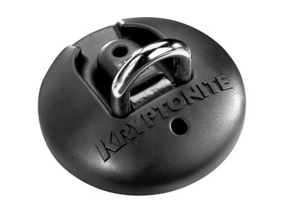Kryptonite - Forankring til wire eller kædelåse - Sort