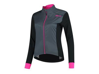 Rogelli Contenta - Vinterjakke Dame - 0 til 10 grader - Grå/Sort/Pink