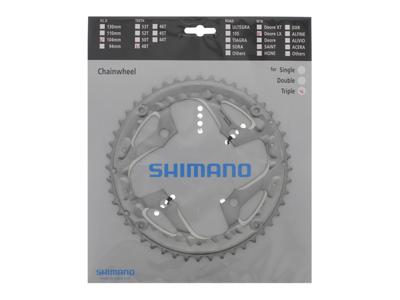 Shimano Deore LX - 48 tands CG klinge MTB - BCD104 - Sølvt - FC-T671