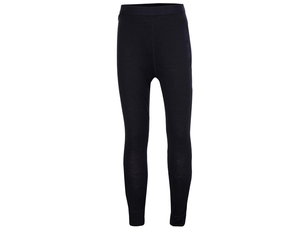 2117 OF SWEDEN Ullånger Eco - Underbukser Lange Merinould - Junior - Sort - Str. 164 | svedtøj og undertøj