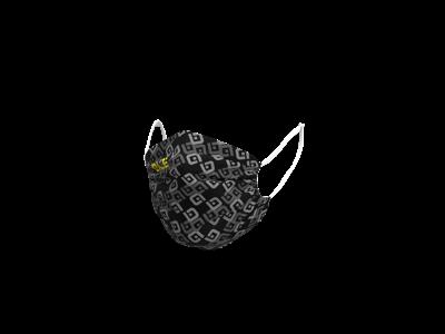 Alé Mascherina - munstycke - svart / gul - en storlek
