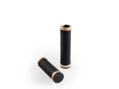 Brooks Cambium - Håndtag Comfort i gummi - 100/100mm lang - Sort copper