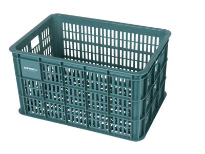 Basil Crate L - Plast kurv - Til opbevaring eller bagagebærer - Seagrass