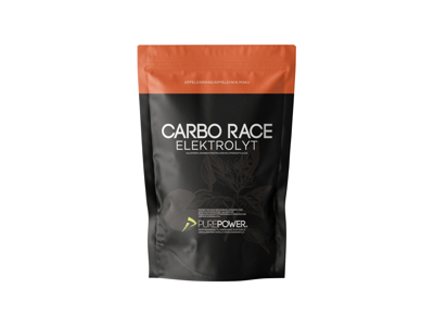 PurePower Carbo Race - Elektrolyt energidrik - Appelsin 1,0 kg