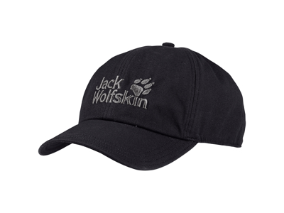 Jack Wolfskin Baseball Cap - One size 56-61cm - Sort