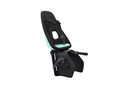 Thule Yepp Nexxt Maxi - Cykelstol med 5-punktssele - Bagagebærermonteret - Sort/mint