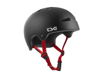 TSG Superlight - Cykel- og skaterhjelm - Satin sort