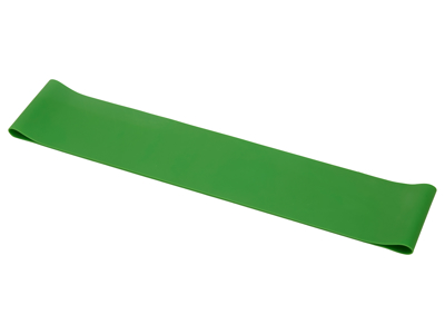OnGear - Træningselastik - Exercise Loop - Medium - Latex - 500x50x0.70mm - Grøn