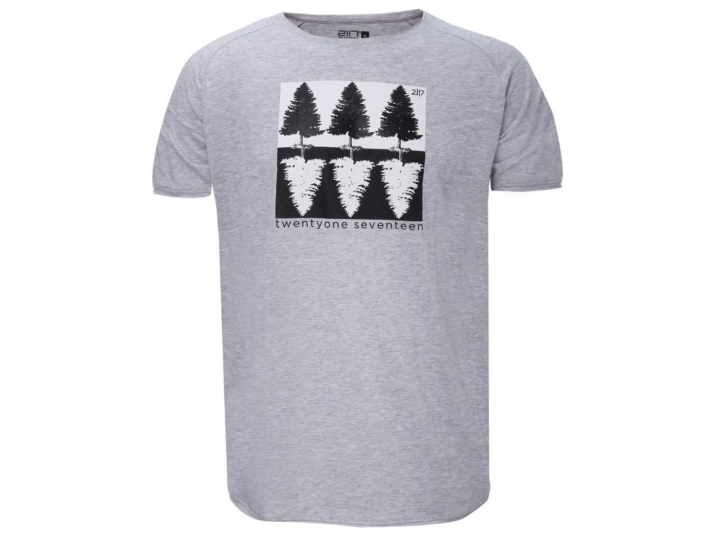 2117 OF SWEDEN Apelviken - T-Shirt - Grå - Str. L thumbnail
