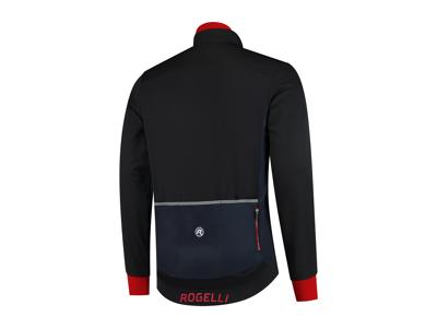 Rogelli Contento - Vinterjacka - 0 till 10 grader - Blå / svart / röd