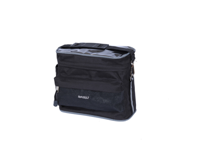 Basil Mali Front Bag - Styrtaske - 8 liter - Black