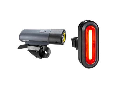 Kryptonite Alley - Cykelljuspaket F800 och R75 - USB-laddningsbar