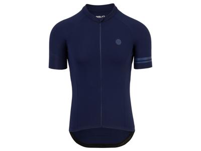 AGU - Solid - Cykeltrøje med korte ærmer - Blå