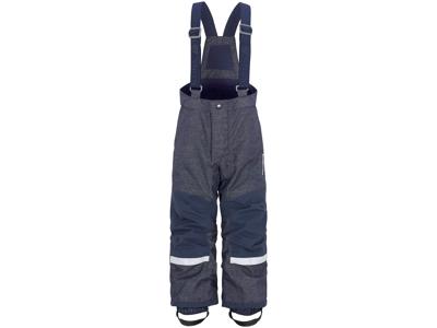 Didriksons - Idre - Kids Demin Pants - Blå