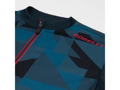 Rogelli Brisk - Cykeltrøje - Korte ærmer - Blå/Rød