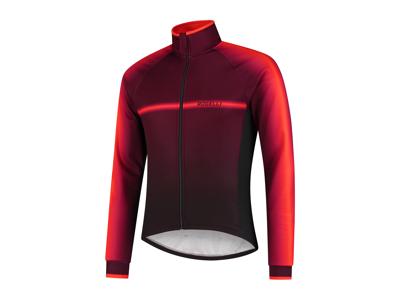 Rogelli Dex - Vinterjakke - 0 til 10 grader - Sort/Bordeaux/Rød