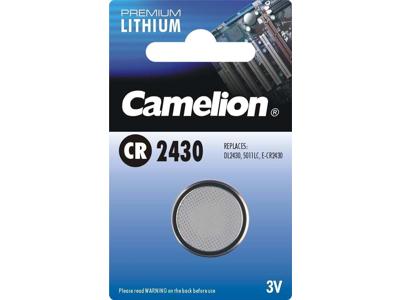 Maxell - Batteri - CR2430 Lithium 3v - 1 stk