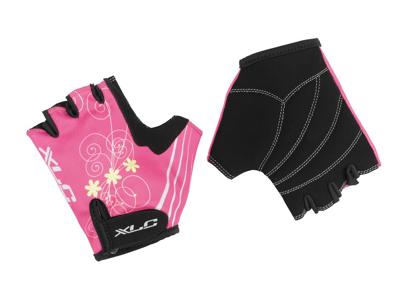 XLC - CG-S08 Princess - Cykelhandske til børn - Pink/Sort