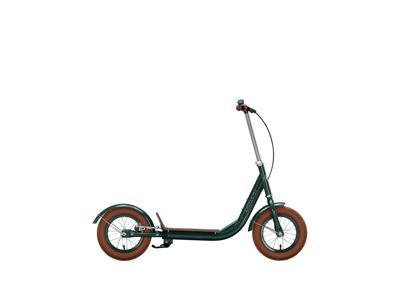 """EXCELSIOR - Retro løbehjul - 12"""" hjul - Dark green"""