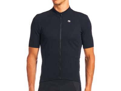 Giordana Fusion - Cykeltrøje - Korte ærmer - Sort