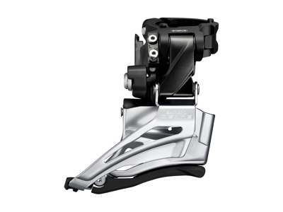 Shimano Deore - Forskifter FD-M602-H - 2x10 34/38 tands High clamp med bånd - 28,6-34,9mm