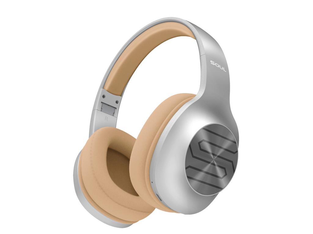 Billede af Soundliving - Soul - Trådløse bluetooth høretelefoner - Sølv