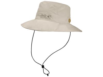 Jack Wolfskin Supplex Mesh Hat - Unisex - Light Sand