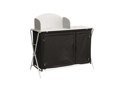 Outwell Richmond - Campingbord - Foldbar - Sort/Sølv