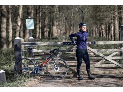 Rogelli Luna - Vinterjakke Dame - 0 til 10 grader - Lilla/Blå