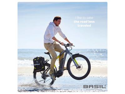 Basil Miles Daypack - Rygsæk - 17 liter - Black lime