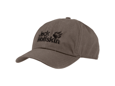 Jack Wolfskin Baseball Cap - One size 56-61cm - Siltstone