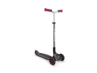 Globber Master foldbar - Løbehjul til børn med 3 hjul - Sort-Rød