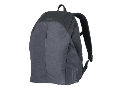 Basil B-safe Backpack - Rygsæk - 18 liter - Black graphite
