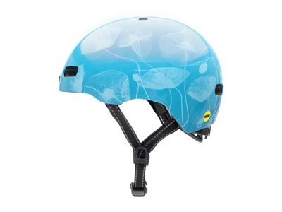 Nutcase - Street MIPS - Cykelhjelm med Skaterlook - Inner Beauty Gloss - Blå
