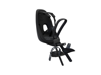 Thule Yepp Nexxt Mini - Cykelstol med 5-punktssele - Förmonterad - Svart