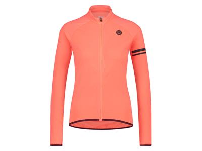 AGU Essential Thermo Jersey - Dame cykeltrøje L/Æ - Coral