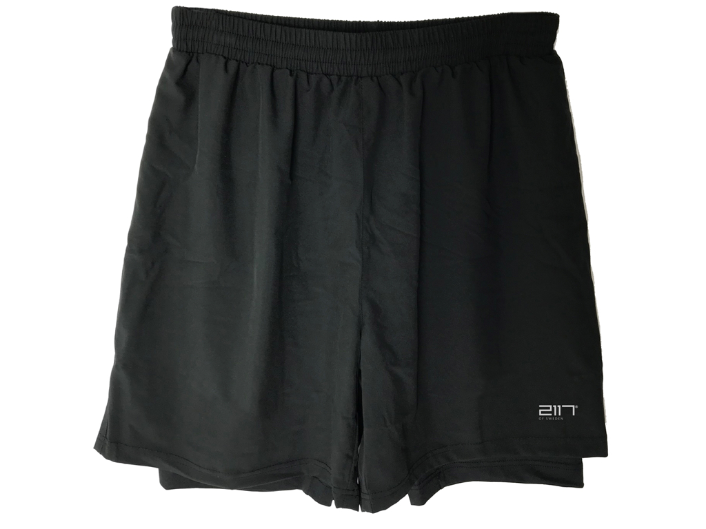 2117 OF SWEDEN Halna - Trail løbeshorts - Sort - Str. 3XL thumbnail