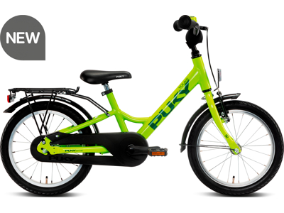 "Puky Youke - Børnecykel 16"" - Freshgreen - Alu"