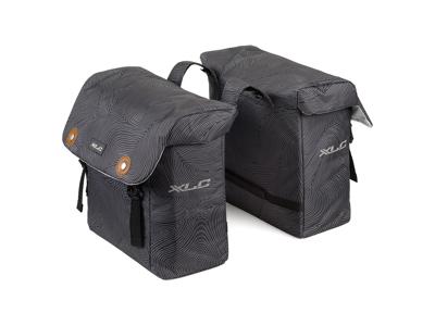 XLC - Lux Double - Tasker til bagagebærer - Grå