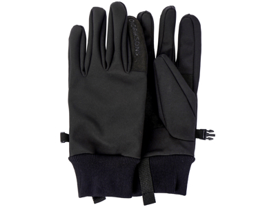 Didriksons - Isa - Softshell Gloves 2 - Sort
