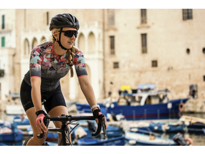Rogelli Prime 2.0 - Cykelbukser med seler - Dame - Power Gel pude - Sort