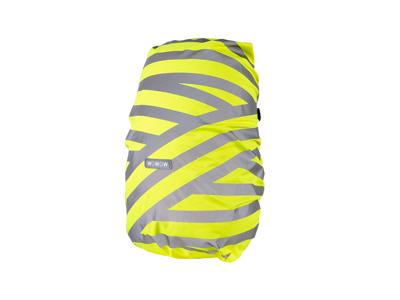 WOWOW Berlin Bag Cover - Reflekterende overtræk til rygsæk op til 25 liter - Neongul