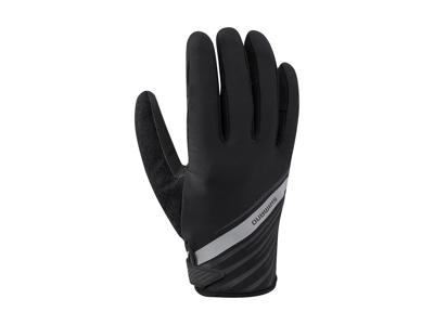 Shimano FF - Cykelhandske full finger - Sort