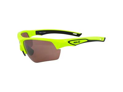 AGU Medina HD - Sports- og cykelbriller med 3 sæt linser - Gul