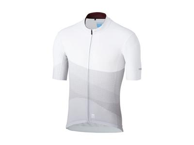 Shimano Breakaway - Cykeltrøje med korte ærmer - Hvid